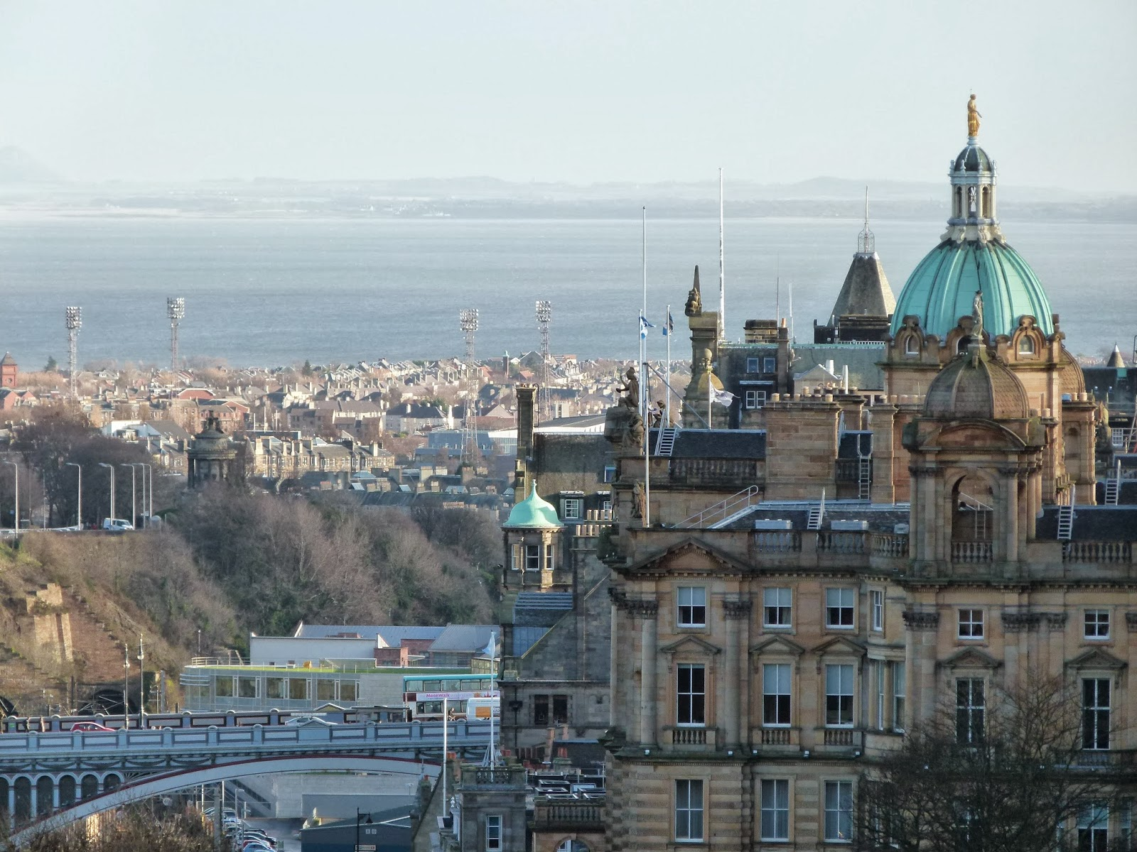 edinburgh from above visit scotland