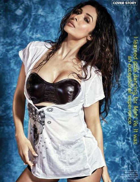 Actress Malaika Arora Hot Photo Shoot FHM Pics