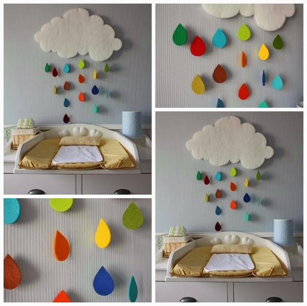 As ideias da mila ideias para decorar o quarto do beb diy for Tablero del deco del sitio del bebe