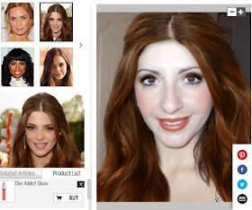 Try Your Makeup and Hair Virtual Makeover