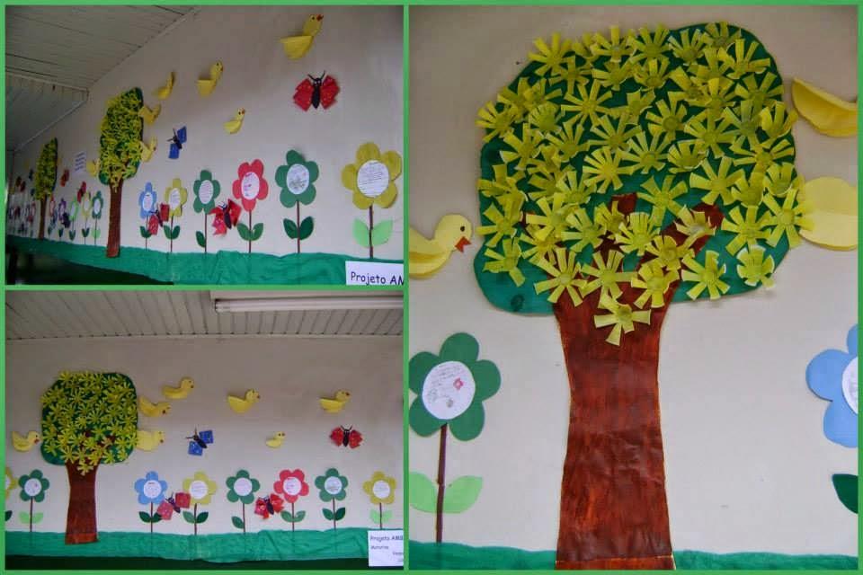 Well-known Painel para o dia da Árvore - Diversos exemplos de murais  RJ22