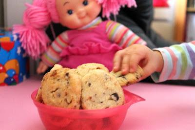 Ciasteczka z czekoladą (dziecinnie proste)