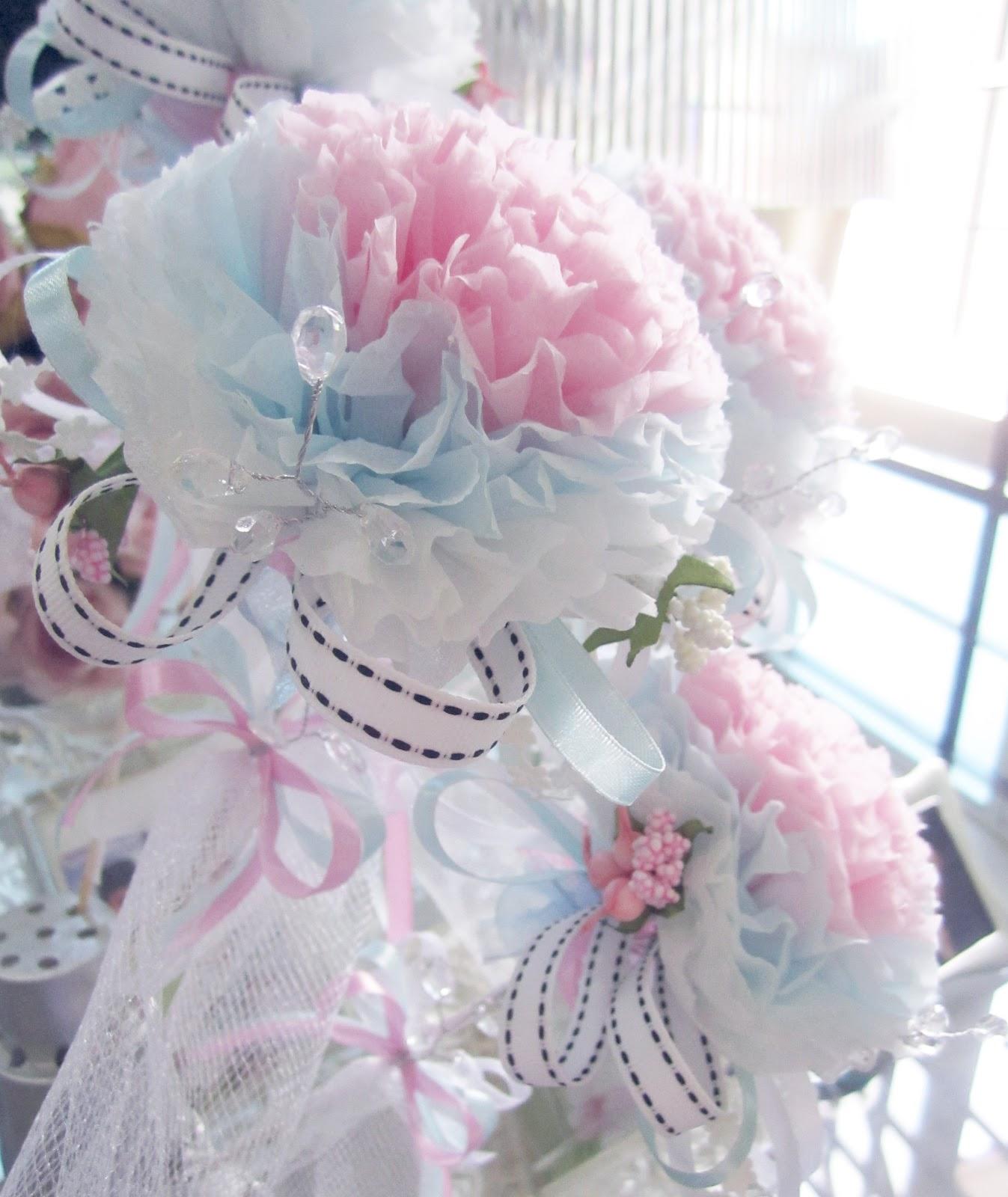 Oh Pretty Please Tissue Flower Bunga Telur Latest Design