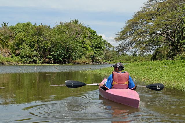 Balade en kayak à Las Isletas