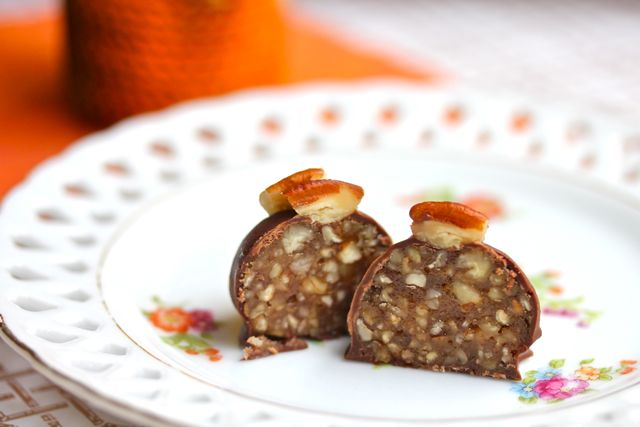 pecan pie truffles recipe