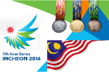 medal tally asian games 2014