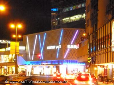 fetival of lights, berlin, illumination, 2012, Karstadt