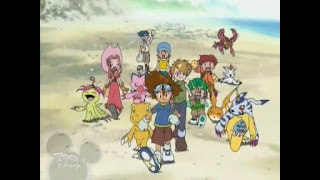 Digimon Adventure Digital Monsters Tai Matt Sora Izzy Joe Mimi T.K. Agumon Gabumon Palmon Biyomon Gomamon Patamon