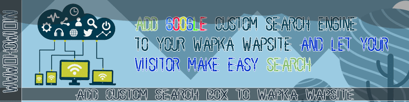 Custom Search Box For Wapka
