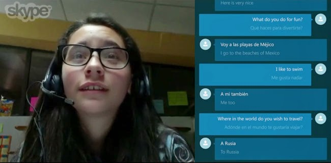 Watch Real Time Skype Translator Preview as the Newest Addition to Microsoft's VideoConferencing Platform
