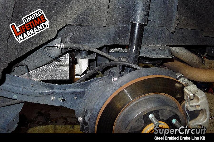 supercircuit steel braided brake lines mazda 3 mps steel. Black Bedroom Furniture Sets. Home Design Ideas