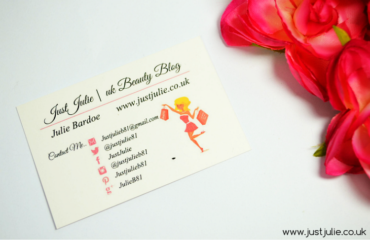 Business Cards For Your Blog