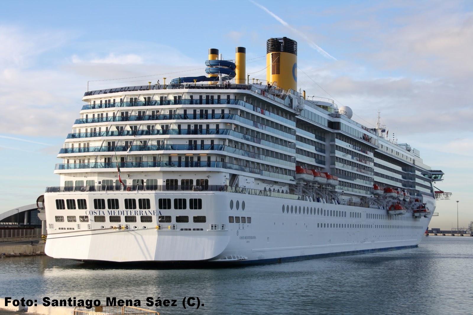 Barcos en m laga lunes 22 de octubre llegan los buques costa mediterranea y coral leader - La mediterranea ...