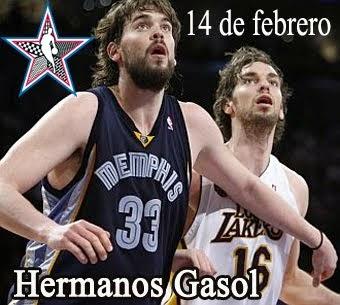 Pau y Marc Gasol son elegidos titulares en el All Star de la NBA