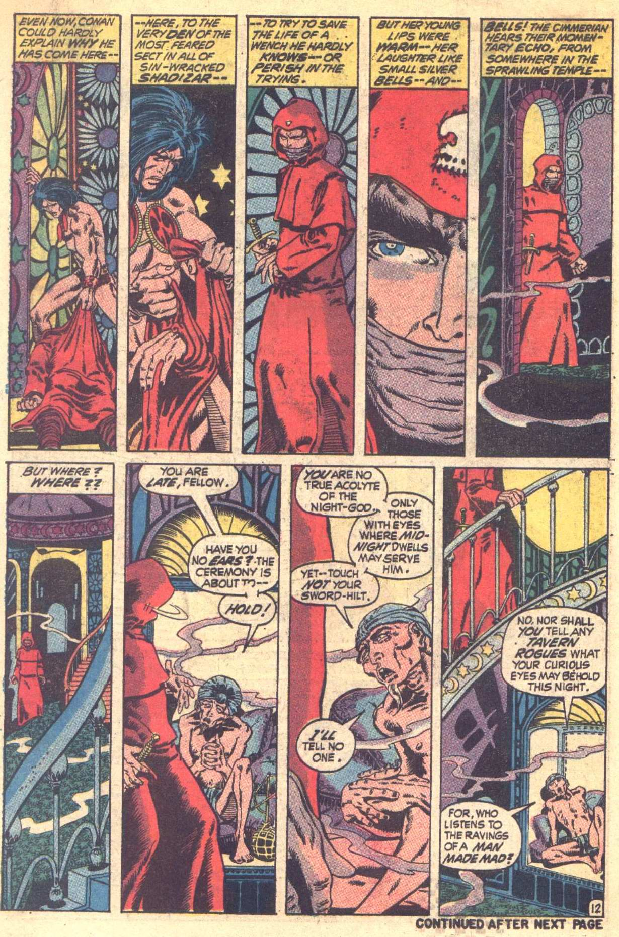 Conan the Barbarian (1970) Issue #6 #18 - English 13