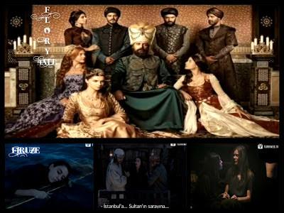 Corabia piratului Barbarossa, naufragia pe mare si salveaza o femeie pe nume Firuze ( Cansu Dere)