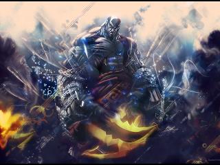 Kratos God of War Tattoo Video Game HD Wallpaper Desktop PC Background 1288