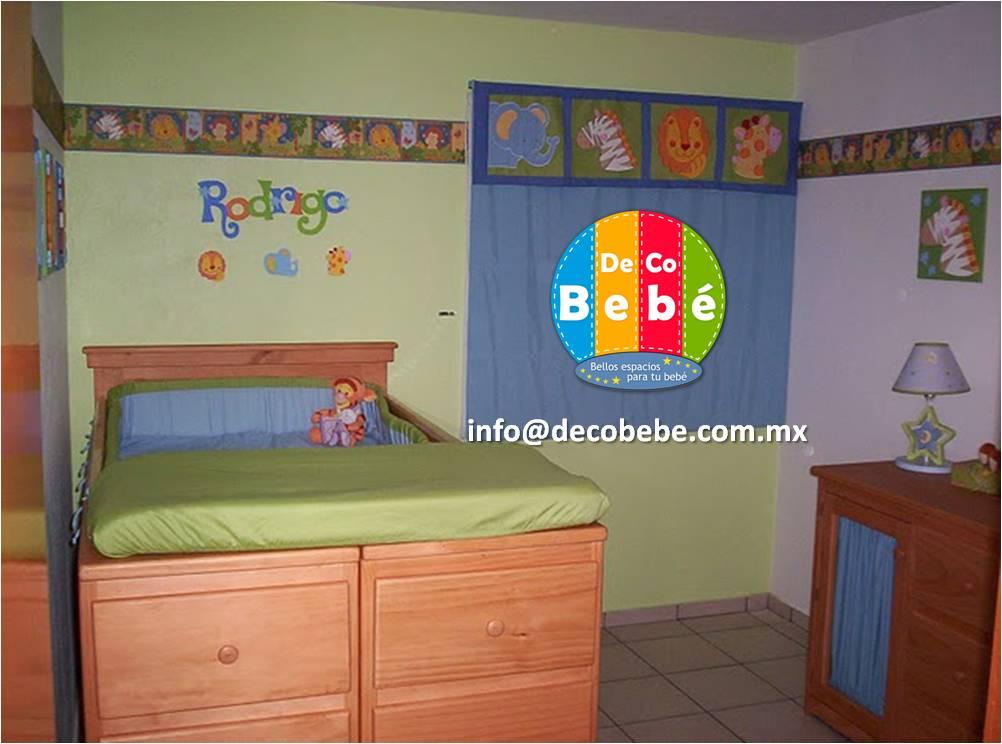 decoracion with decoracion habitacion de bebe nio