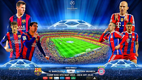 ver Barcelona vs. Bayern Munich en VIVO online gratis