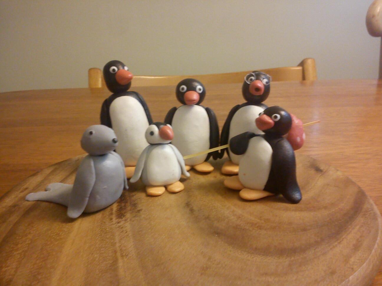 Birthday Cakes Quakers Hill ~ To cake with love pingu topper