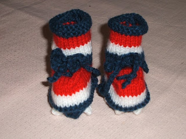 Booties all colours and teams available
