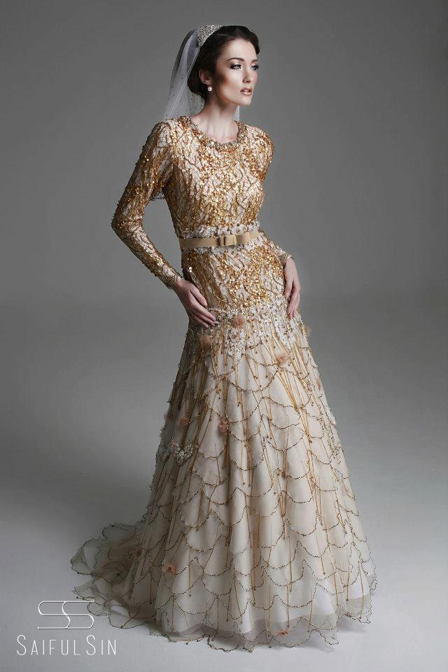 Saiful Sin Couture (Wedding & Designs Gallery): Golden Splendour ...