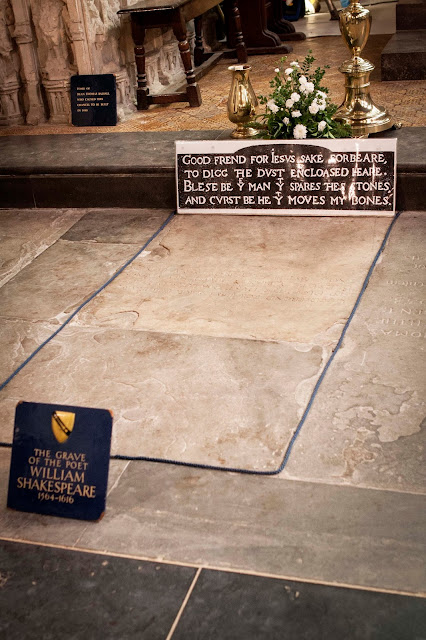 William Shakespeare Grave
