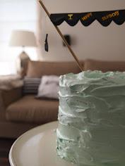 Mintová torta pre Adama