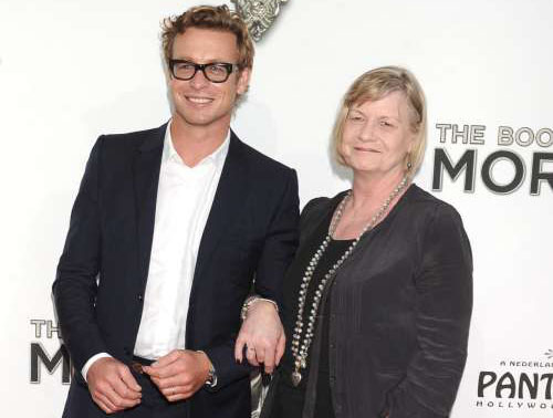 Photo of Simon Baker & his  Mother  Elizabeth Labberton