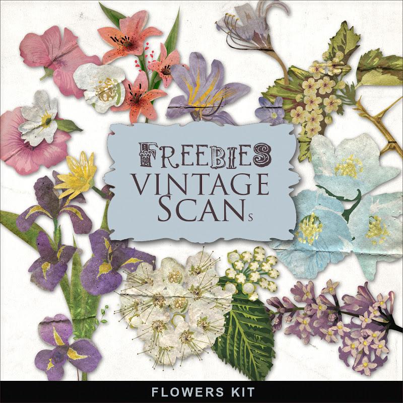 New Vintage Flowers Kit:Far Far Hill