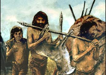 paleolithic societies The data on social organization during the palaeolithic era is minimal, not only in huntingof wild animals in groups and the process of cutting and preserving these, are the earliest signs.