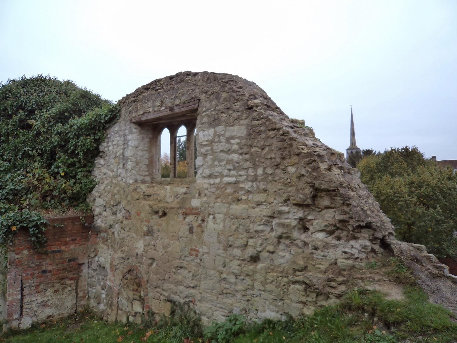 Texture trail wallingford castle