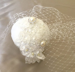 https://folksy.com/items/6681977-Ivory-Bridal-Silk-Wedding-Cocktail-hat-veil-beading-embroidery-