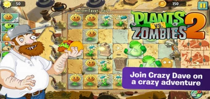 Game Plants vs Zombie 2 Untuk Android