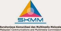 Jawatan Kerja Kosong Suruhanjaya Komunikasi dan Multimedia Malaysia (SKMM) logo