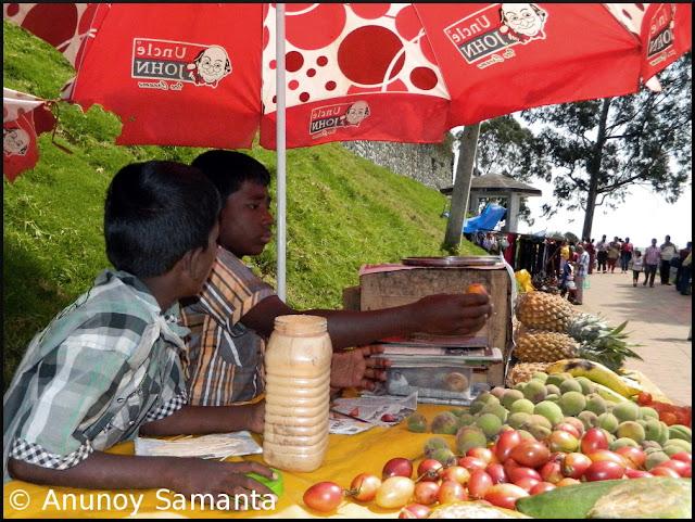 Fruit Seller Boys in Coaker's Walk