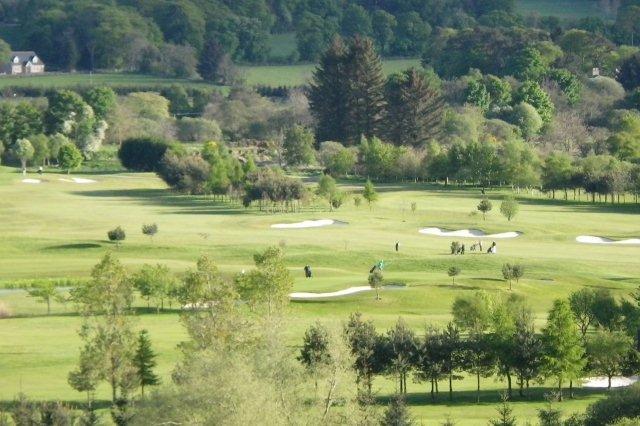 Campo de golf en Escocia