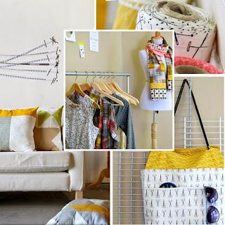 Maker stofserie fra Art Gallery Fabrics. Køb hos STOFogSTUFF.dk