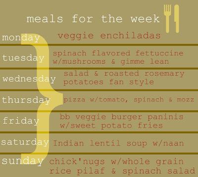 """""""meals"""