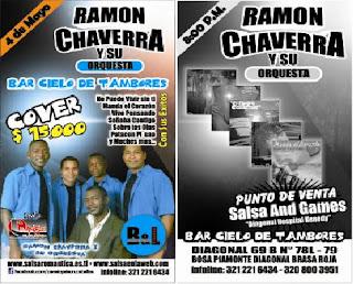 ► Ramon Chaverra y Su Orq. En Bogotá