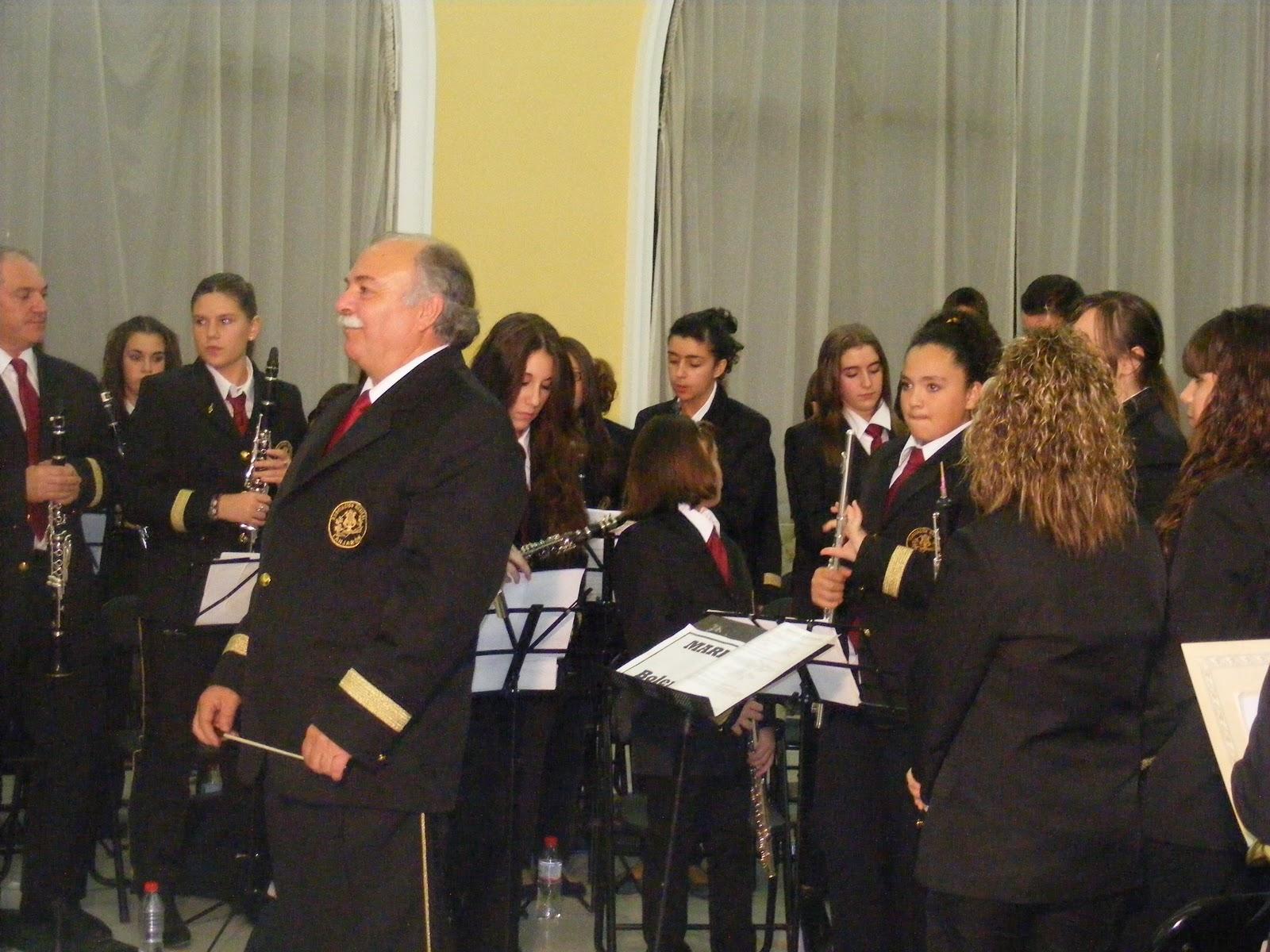 bandalanjaron: Santa Cecilia 2011 - 3ª parte - CONCIERTO