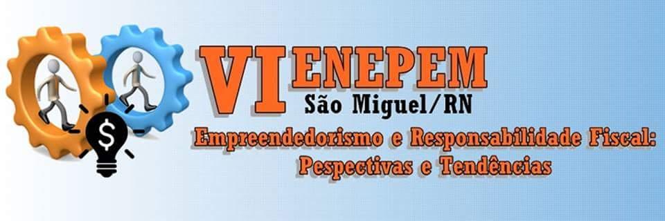 VI ENEPEM - Empreendedorismo e Responsabilidade Fiscal: Perspectivas e Tendências