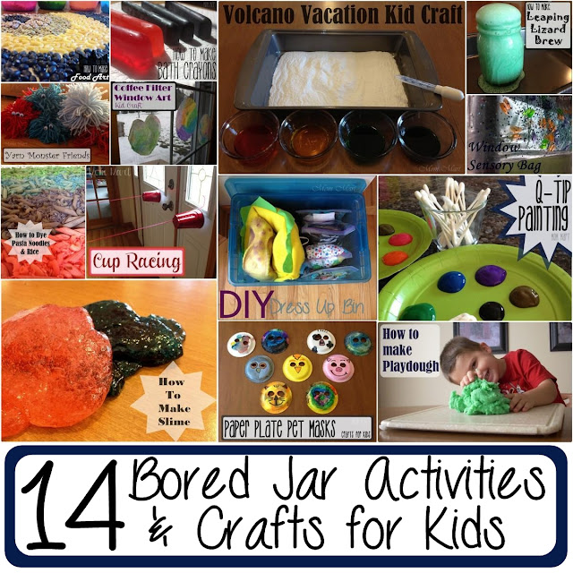 List of Bored Jar Activities and Crafts for Kids