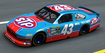 NASCAR The Game Inside Line - Richard Petty STP Pontiac 43 paint
