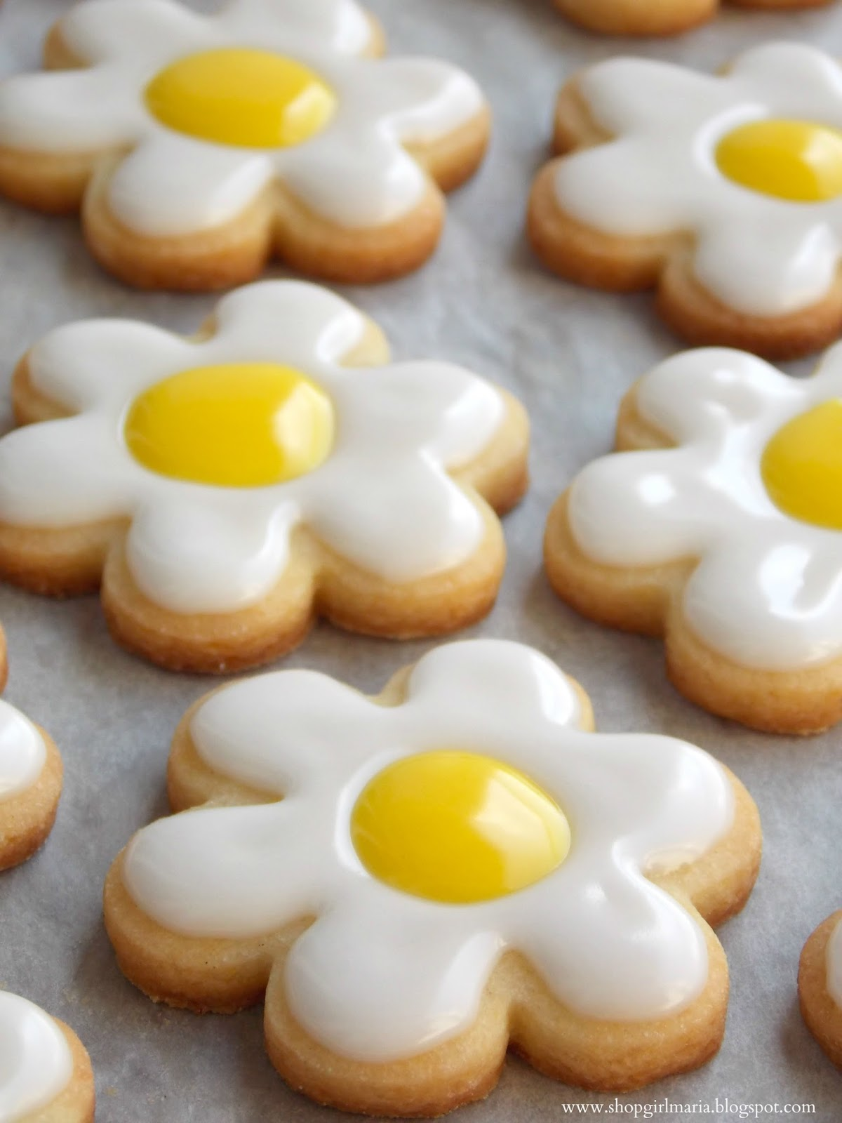 Daisy Sugar Cookies A Homemade Living