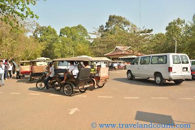 Tuktuk in Bantea Srey