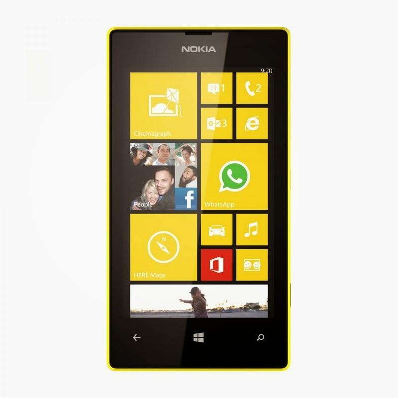 Spesifikasi Dan Harga Nokia Lumia 520 Yellow Terbaru
