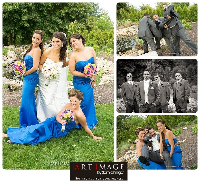 farmington gardens wedding portraits