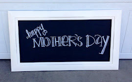 Creamy White Shabby Chic Chalkboard ($30)