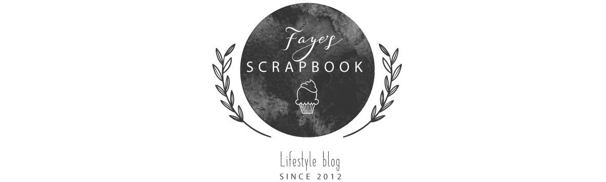Faye's scrapbook
